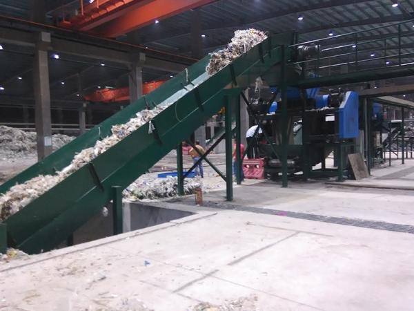 造纸厂废胶纸破碎