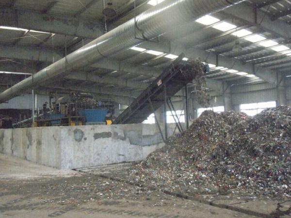 城市生活垃圾破碎机